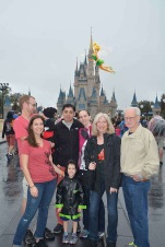 Cinderella's Castle with Disney photo magic