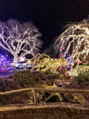 Peddlers Village at Christmas
